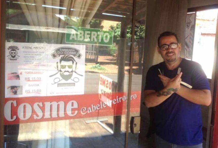 Barbearia do Cosme, que está localizado na Rua Ataulfo de Matos, próximo ao Corpo de Bombeiros de Fátima do Sul  Leia mais em: https://www.fatimanews.com.br/economia/barbearia-do-cosme-reabre-nesta-segunda-6-em-fatima-do-sul-com/199071/