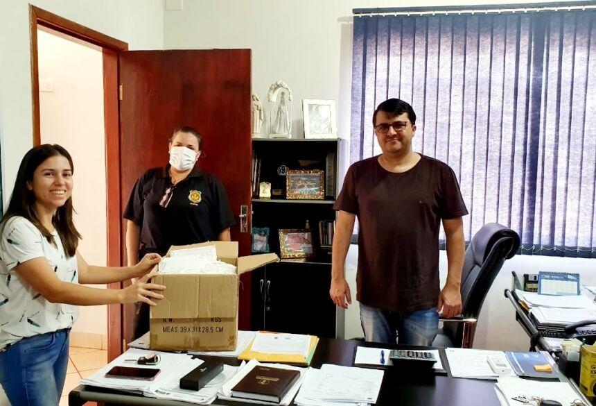 Com produção de 400 máscaras diárias por detentas de Jateí, começa atender Vicentina e Fátima do Sul