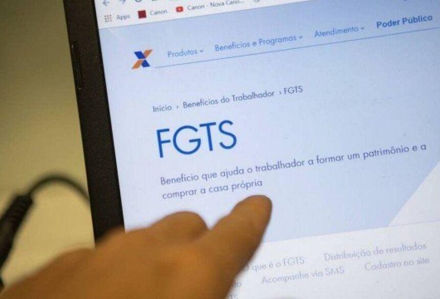 Nova liberação do FGTS deverá ser no valor um salário mínimo Foto: Gabriel Monteiro