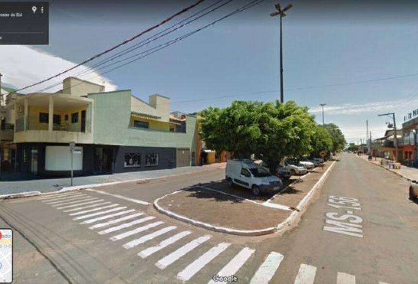 Direito de imagem REPRODUÇÃO/GOOGLE Image caption Caarapó, cidade de 30 mil habitantes no Mato Grosso do Sul, tem apenas um respirador para quadros graves