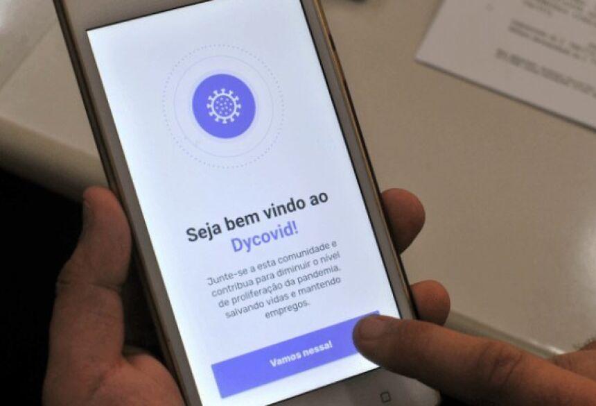 Aplicativo informa localização dos casos confirmados - Valdenir Rezende / Correio do Estado