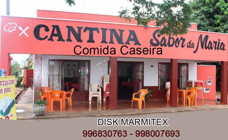 Saborosa comida caseira por 5 reais é na Cantina Sabor da Maria em Fátima do Sul