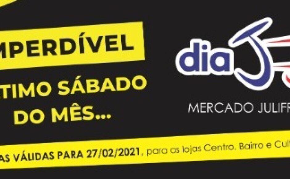 Confira algumas OFERTAS do Dia 'J' deste sábado do Mercado Julifran em Fátima do Sul