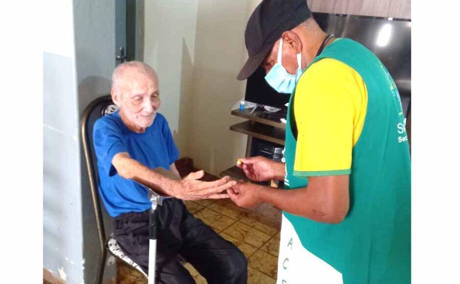Diretoria do Lar do Idoso de Fátima do Sul agradece a Secretaria Municipal de Saúde por atendimentos
