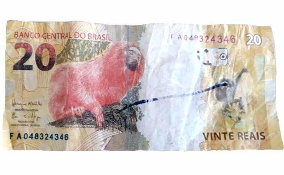 Derrame de cédulas falsas de 10 e 20 no comércio de Vicentina e Fátima do Sul