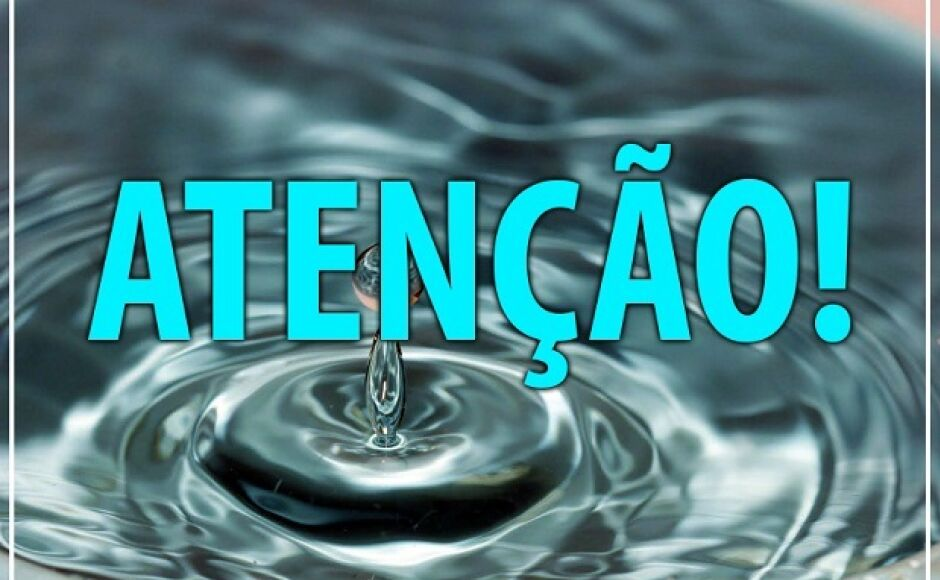 Sanesul informa bairros e horários que vão ficar sem água nesta quinta-feira em Vicentina