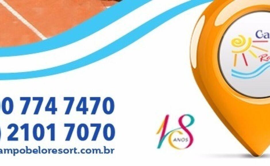 Campo Belo Resort com promoção especial de 22 a 31 de julho, CONFIRA