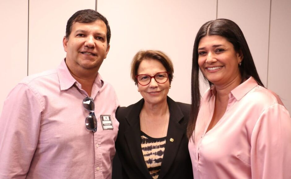 Em Brasília, Rose Modesto reúne com ministra e discute fortalecimento da cadeia produtiva do leite