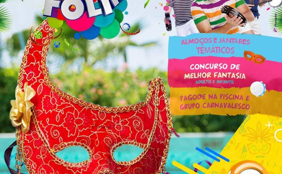 Carnaval é no Campo Belo Resort, reserve já seu lugar nesse bloco - Confira os pacotes