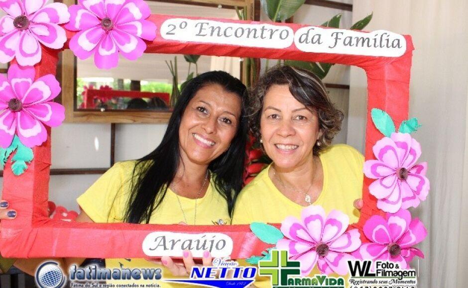 CONFIRA as FOTOS da confraternização do II Encontro da Família Araújo em VICENTINA