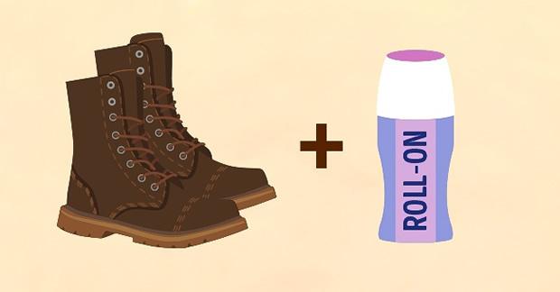 df02e2e41 Os ossos laterais dos pés, o calcanhar e os dedos são as áreas mais  afetadas com o roçar dos sapatos. Aplique um pouco de desodorante roll-on  sobre elas ...