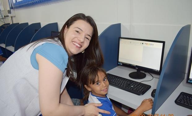 Primeira dama do município, Sandra Brigatti Dias Hermenegildo