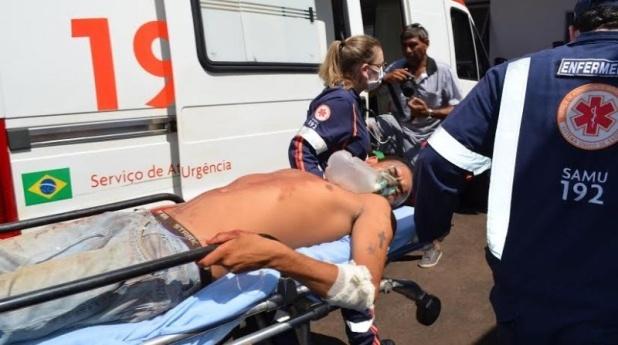 Homem tenta matar pedreiro em obra e deixa dono de residência ... - Fatima News