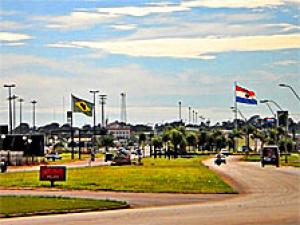 Ponta Por� fica na fronteira com o Paraguai (Foto: Valdenir Rezende/Correio do Estado)