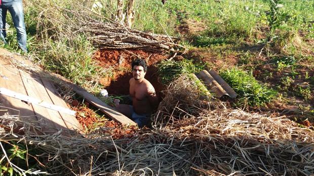 Silvano foi encontrado escondido num assentamento rural em Caiu� (SP) - Divulga��o/SIG/Presidente Epit�cio