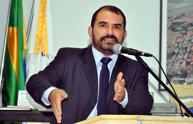 Presidente da Casa de Leis em Fátima do Sul Ermeson Cleber Mendes - Foto: Ribero Júnior / Arquivo / SiligaNews