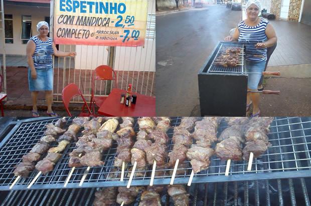 'Espetinho da Edina' agora funcionando ao lado da casa do Adélio do Foto em FÁTIMA DO SUL