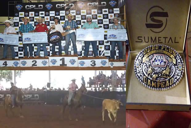 Fatimassulenses e atletas do laço do MS conquistam prêmios no Circuito Paranaense de laço em dupla