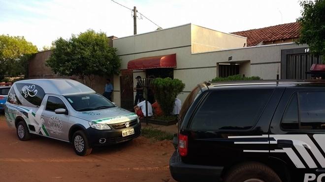 Local onde o corpo do idoso foi encontrado. Foto: Eliton Santos