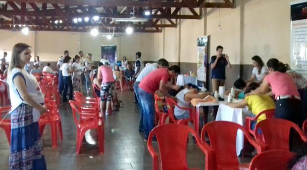 Igreja Adventista do Sétimo Dia promoveu a I Feira de Saúde em FÁTIMA DO SUL