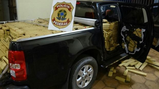Grandes cargas de maconha foram apreendidas durante período de investigação - Foto: Divulgação