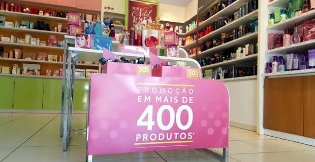 FOTO: ROGÉRIO SANCHES / FÁTIMA NEWS - O Boticário oferece descontos de até 40% em mais de 400 itens de beleza