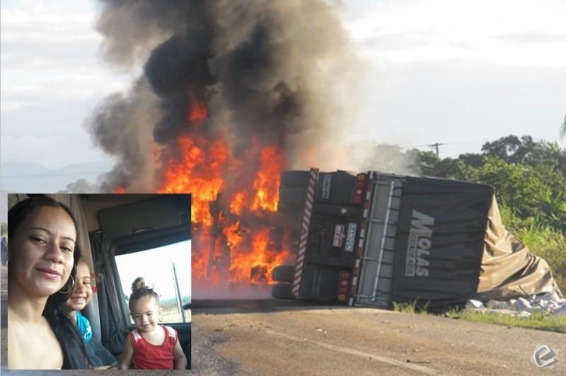 Foto: Circuito MT - Mãe e filhas, de Rio Verde (MS), morrem carbonizadas em acidente no Mato Grosso (MT)