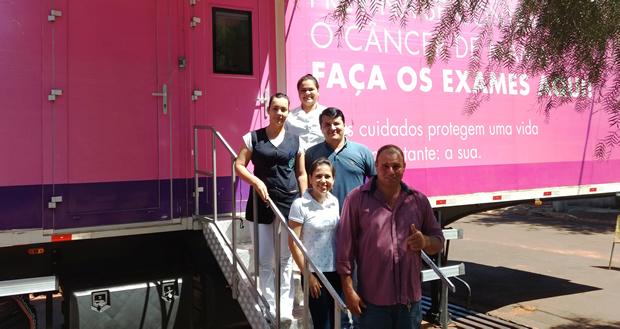 FOTO: EVERTON PEREIRA / ASSESSORIA - Carreta faz 465 atendimentos e prefeito agradece o empenho de todos envolvidos na saúde