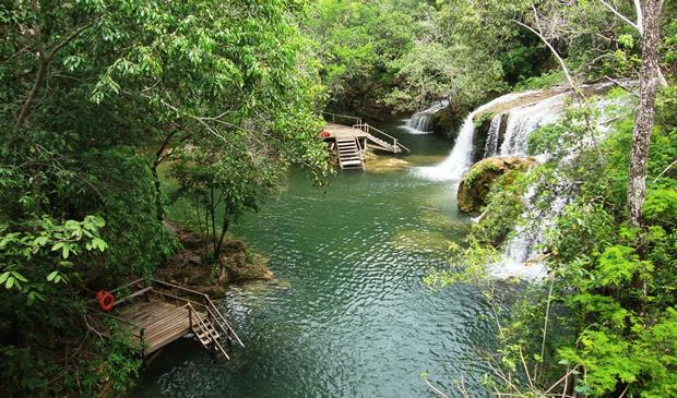FOTO: ESTÂNCIA MIMOSA - Agência Sucuri destaca o passeio na Estância Mimosa e suas 7 fascinantes cachoeiras