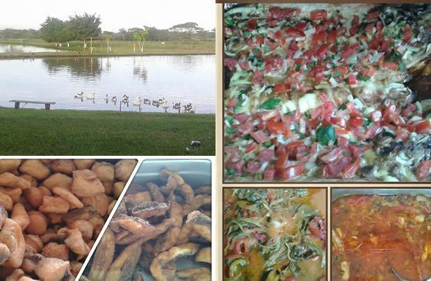 Veja o cardápio do delicioso almoço neste domingo no Pesqueiro 7 Bello em VICENTINA