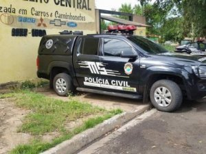 Operação descobriu esquema de desmanche de veículos (Foto: Em Pauta)