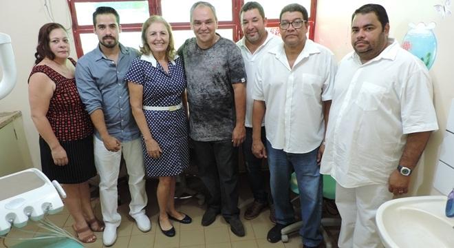 Equipe responsável pela execução do programa em Deodápolis