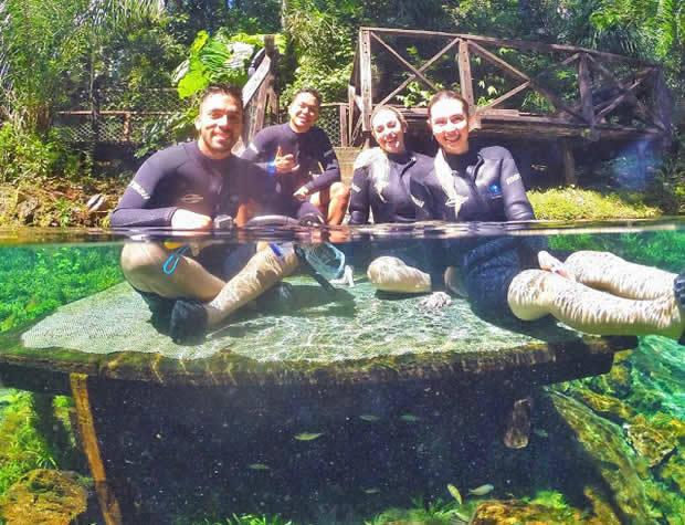 Águas de Bonito recebeu a visita das Youtubers, Veja algumas fotos da visita deles em BONITO