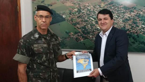 FOTO: EVERTON RICARDO - Prefeito Marquinhos do Dedé toma posse como Presidente da Junta Militar em VICENTINA
