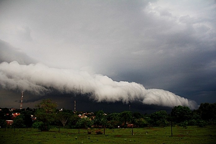 Mato Grosso do Sul em alerta de temporais. Foto: Rafael Henrique/Gazeta do Dia
