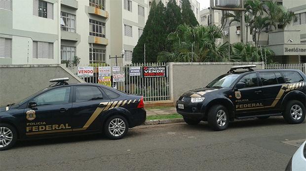 Polícia Federal cumpre mandados também em Campo Grande - Valdenir Rezende / Correio do Estado