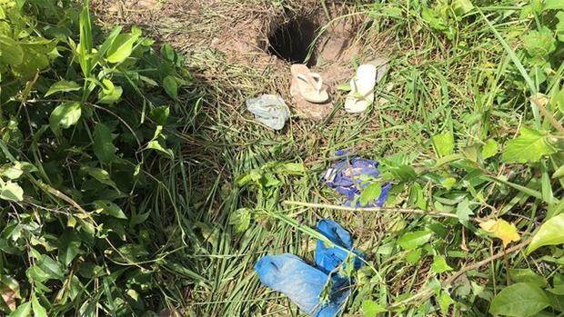 Detentos escavaram um buraco para escapar da unidade; roupas ficaram para trás - Externa: Ricardo Araújo (G1) / Interna: Aura