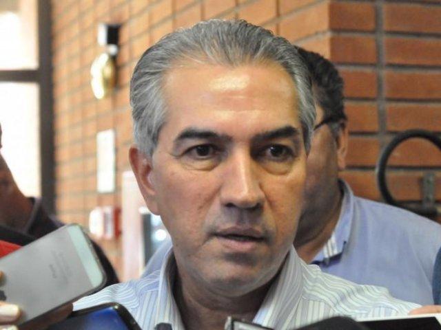 Governador Reinaldo Azambuja; por meio de nota, ele rebate delação de dono da JBS (Foto: Marcos Ermínio / Arquivo)