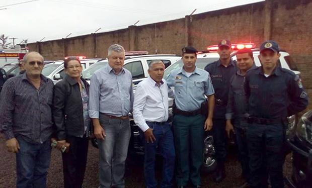 Vereadores destacam e agradecem governador por nova viatura para Polícia Militar de Vicentina