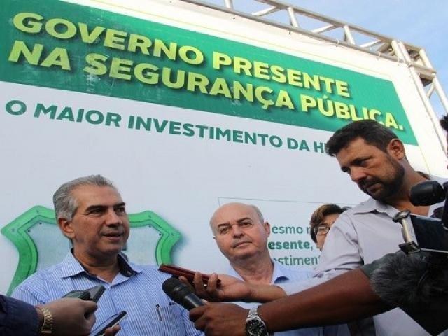 Governador fez o anuncio hoje durante visita à Nova Andradina (Foto: Divulgação)