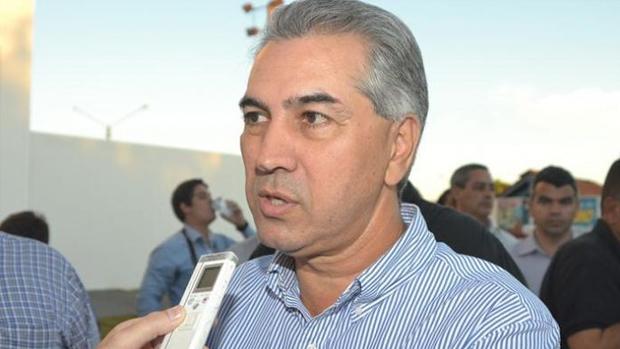 Governador Reinaldo Azambuja / Imagens: Jornal da Nova/Arquivo