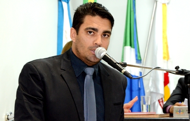 FOTO: ROGÉRIO SANCHES / FÁTIMA NEWS - Vereador e vice-presidente da Câmara, Diego Carcará
