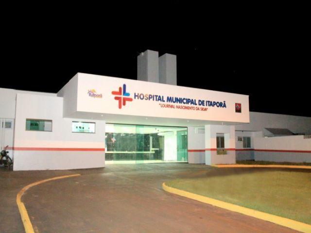 Vítima foi encaminhada por uma vizinha ao Hospital Municipal de Itaporã. Foto: Itaporã Agora