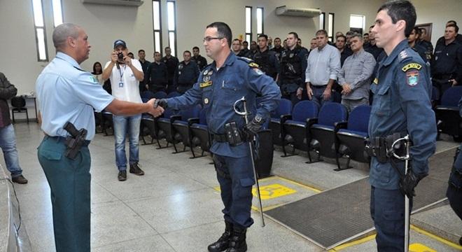 Foto: Eliton Santos / Impacto News - Major Jota Roberto no momento da troca de comando