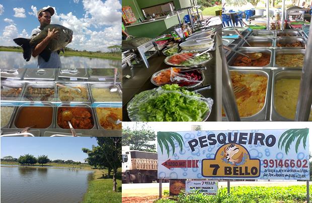 Pesqueiro 7 Bello serve delicioso almoço com pratos típicos do peixe neste domingo em VICENTINA