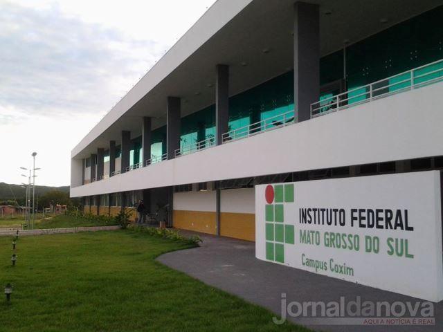 IFMS campus de Coxim (imagem google)