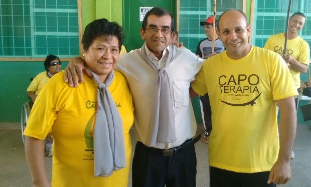 FOTO: DIVULGAÇÃO - 'Capoterapia' é desenvolvida na Capital com Mestre Elias