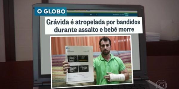 Grávida é atropelada por assaltantes e perde o bebê no Rio