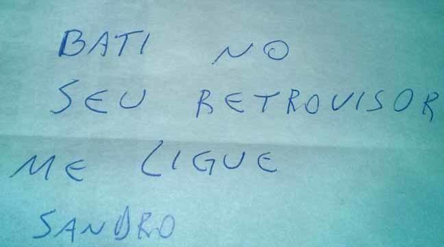 Reprodução/Facebook/Cristiano Borges