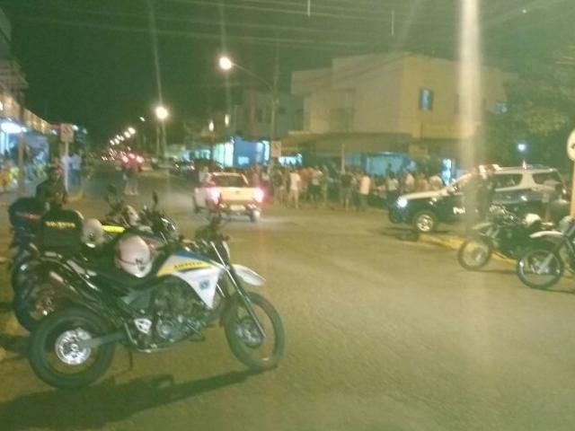 Fiscalização aconteceu próxima ao bar Escobar, em Campo Grande. (Foto: Divulgação)